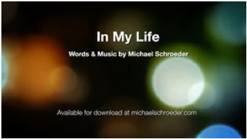 In My Life Video Image